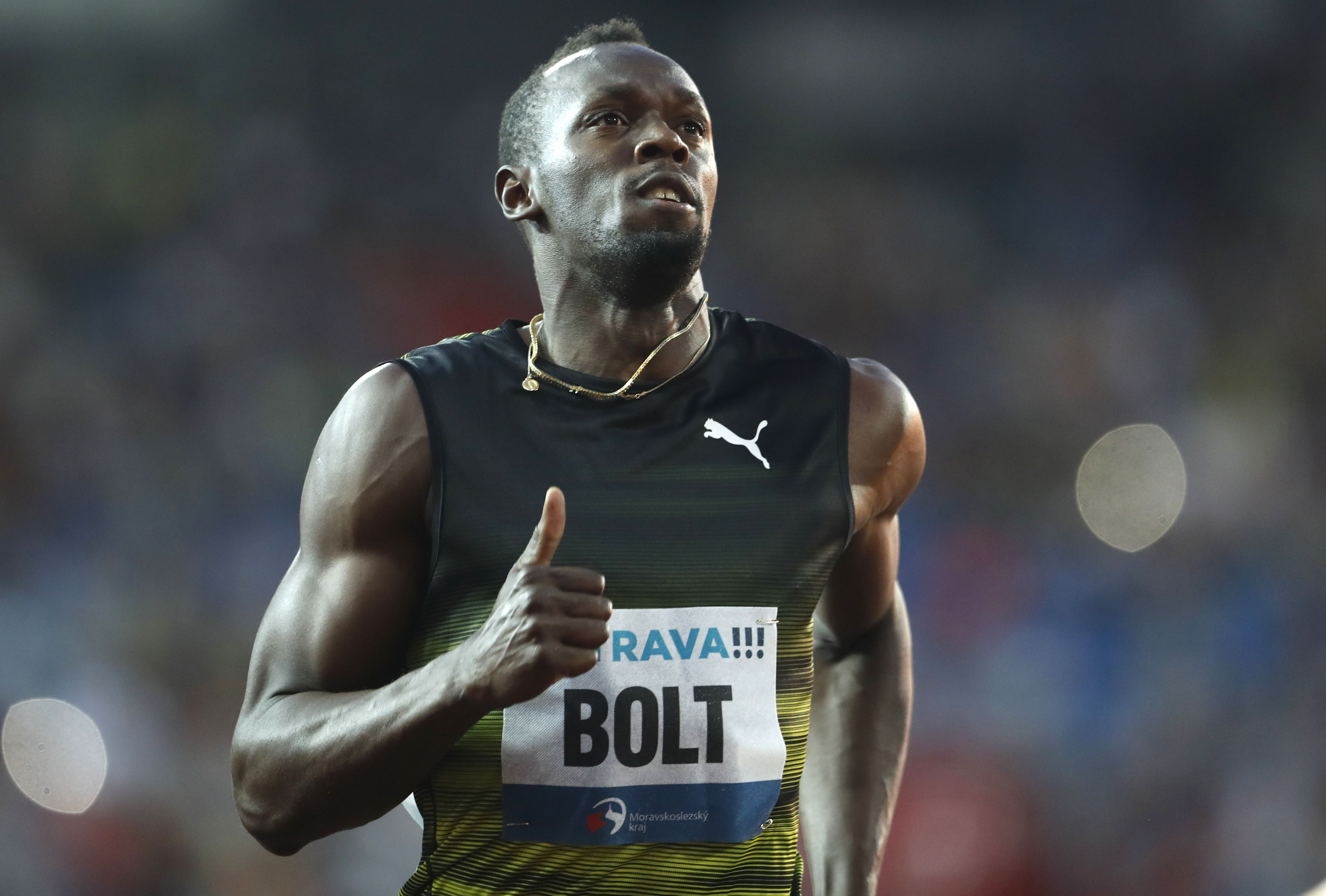 Reveal About Usain Bolt's Stride Upends Sprinting Science