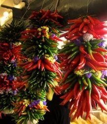 This Feb. 11, 2013 photo shows chili peppers.