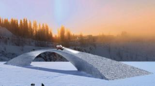 Image result for 500-Year-Old Design Used to Build World's Longest Ice Bridge