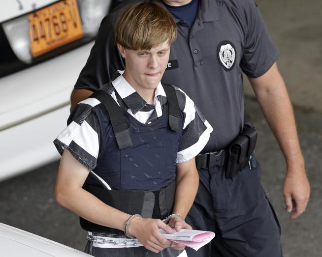 Charleston church shooter to offer no evidence for jury weighing punishment