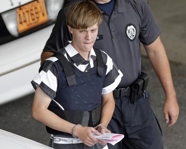 Dylann Roof: 'There's nothing wrong with me psychologically'