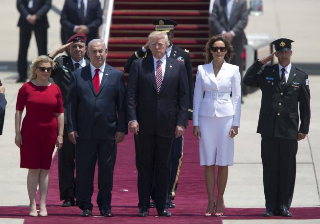 Trump and Netanyahu hail Israeli-Palestinian 'chance for peace' ahead of talks