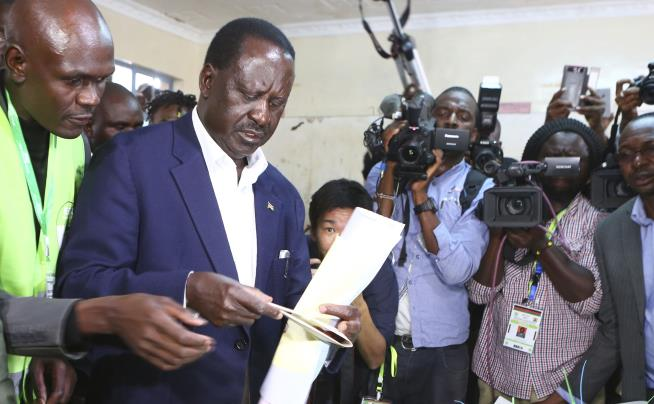 Observers describe Kenya election as credible