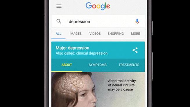Google search adds medical quiz to help diagnose depression