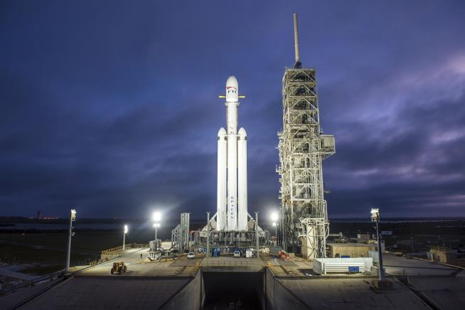 SpaceX's Falcon Heavy launch: all you need to know