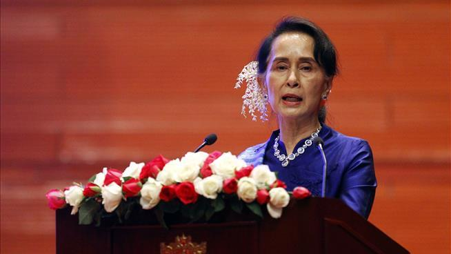 Holocaust museum rescinds award to Aung San Suu Kyi