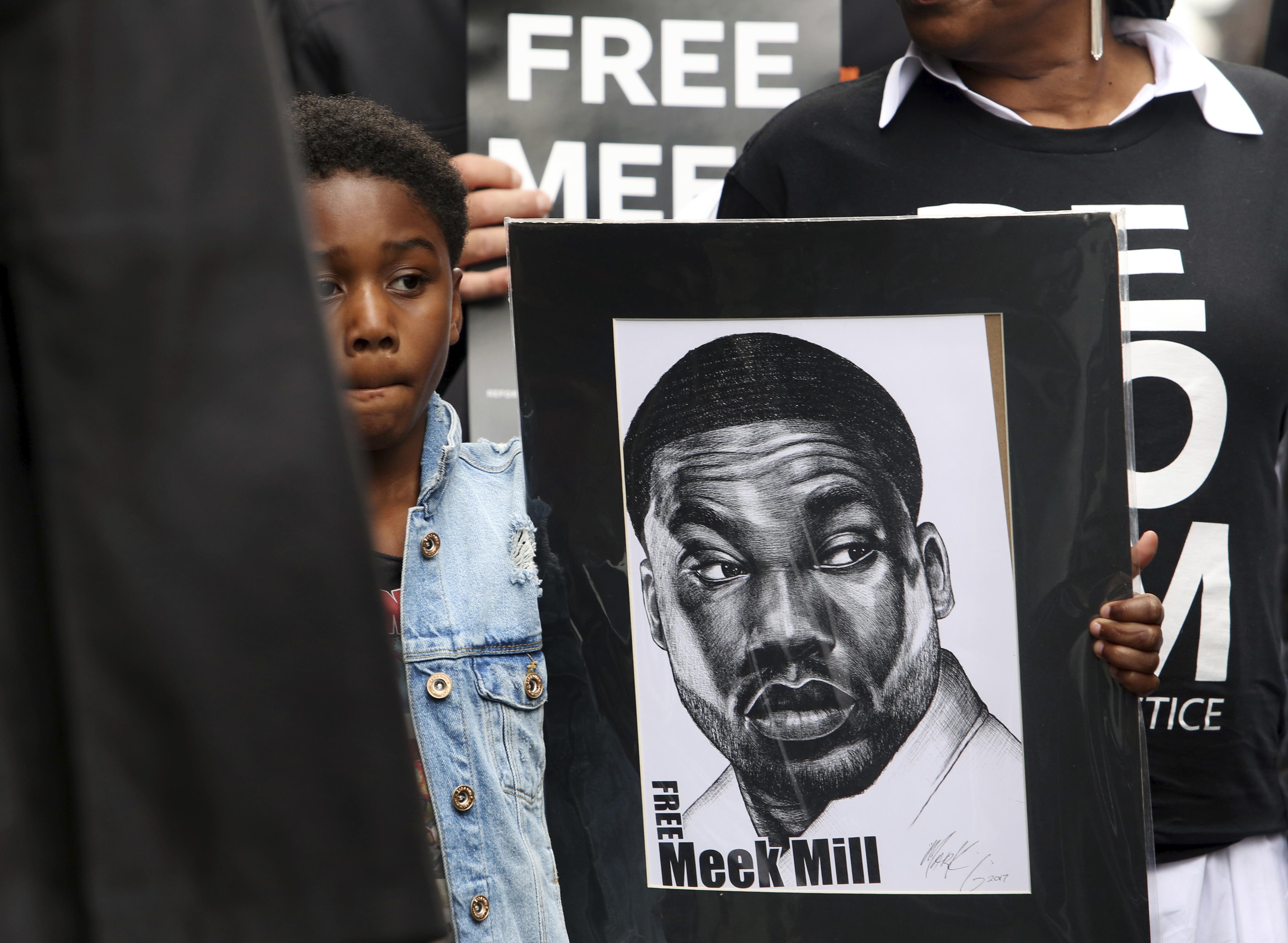 Meek Mill Walks Free