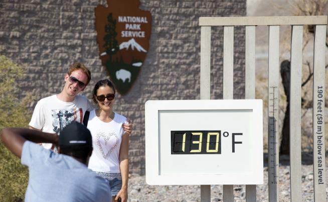 Death Valley Tentatively Sets the World Record for Hottest Month Ever