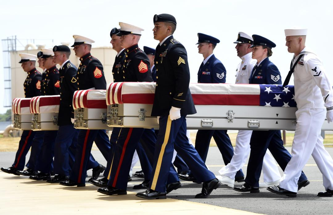 Returned Korean War Remains Are Now Back on US Soil