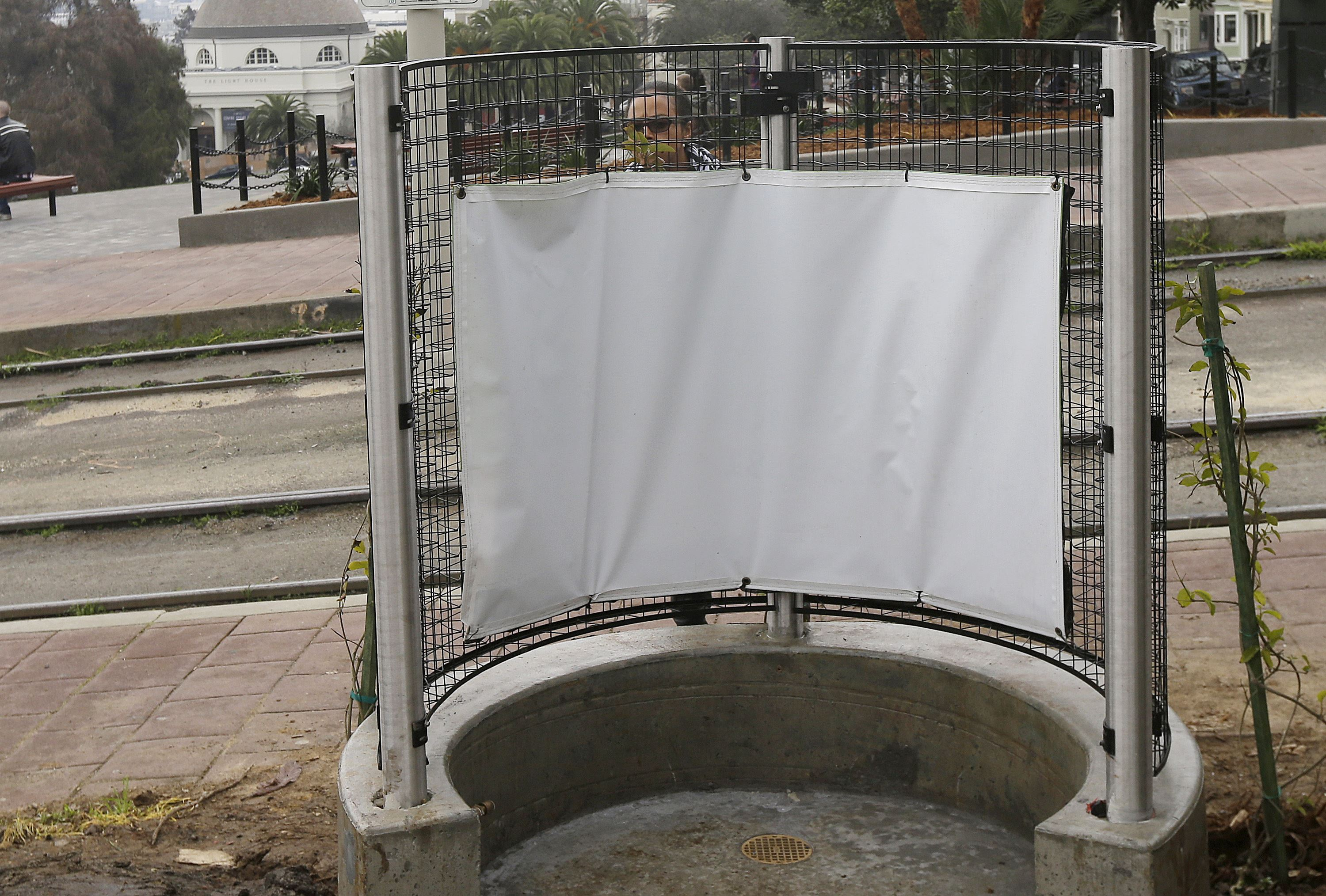 Paris' Open-Air Urinals Called 'Immodest, Ugly'