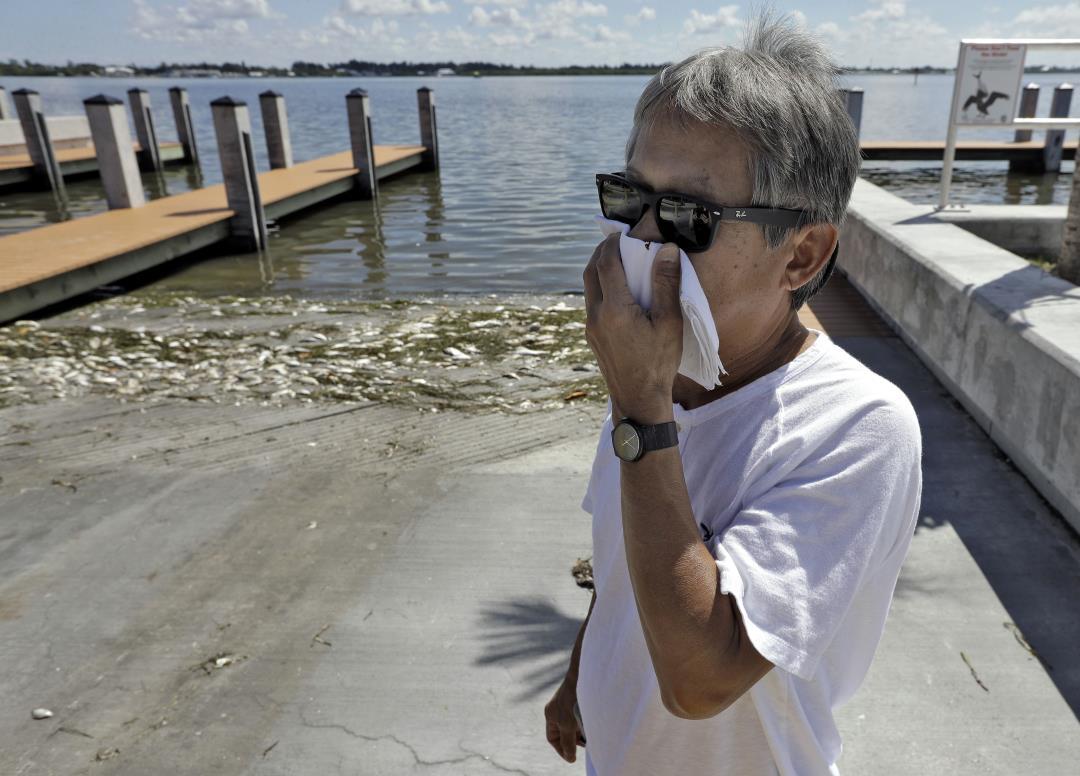 It Kills in the Water, Is Like 'Tear Gas' on Land