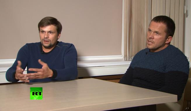 Skripal poisoning suspects claim they were in Salisbury AS TOURISTS (English)