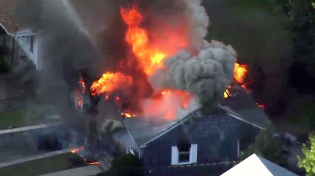 Gas Explosions, Fires Hit Dozens of Massachusetts Homes