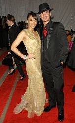 Paula Patton and Robin Thicke arrives at the Metropolitan Museum of Art's Costume Institute Gala.