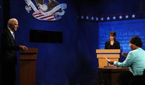 Tina Fey, returned to SNL on Oct. 4, 2008 to play Republican vice presidential candidate Sarah Palin.