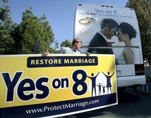The battle over California's Proposition 8 has pulled in record funds from both sides.