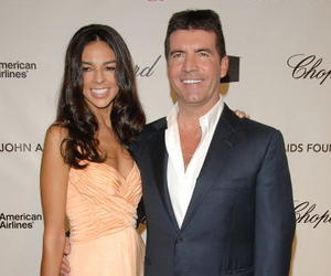 Simon Cowell and Terri Seymour first met when she was 18, but the couple didn't begin dating until she interviewed him for a show in 2002.