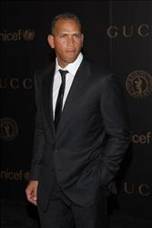 MLB player Alex Rodriguez attends a reception to benefit UNICEF hosted by Gucci during Mercedes-Benz Fashion Week Fall 2008 at The United Nations on February 6, 2008 in New York City.