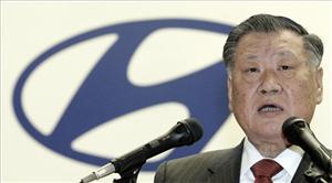 Hyundai Motor Co. Chairman Chung Mong-koo.