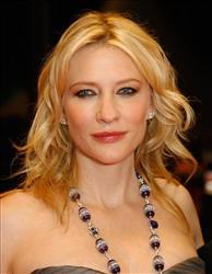 Australian actress Cate Blanchett.