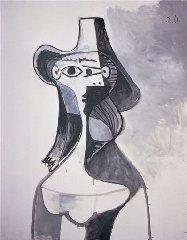 In this photo released by the Picasso Administration in Paris on Feb. 28, 2007, Portrait of Jacqueline, a 1961 oil on canvass by artist Pablo Picasso is seen. French investigators recovered two Picasso paintings and a drawing that were stolen from the home of the artist's granddaughter in an overnight...