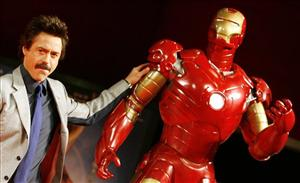 Iron Man was one of the films last summer that helped comic books skyrocket to popularity.