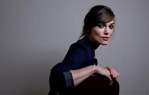 Actress Keira Knightley, from the film The Duchess, poses for a portrait during the International Film Festival in Toronto, Sept. 7, 2008.
