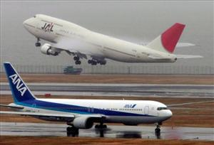 A 747 takes off in Japan in this file photo.