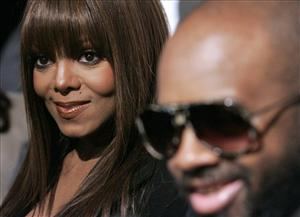 Jackson and Dupri in 2008.