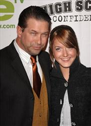 Actor Stephen Baldwin and daughter Alia arrive at a screening of We TV's High School Confidential in New York earlier this year.