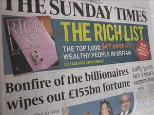The Sunday Times, owned by News Corp, will launch a fee-based standalone website in November.