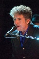 Bob Dylan performs as the opening act of the Pawtucket Arts Festival at McCoy Stadium, in Pawtucket, R.I.