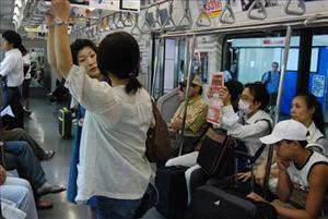 Tokyo police are targeting nine commuter lines favored by gropers.