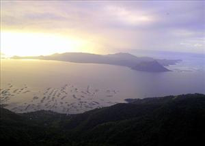 Taal Lake, the Philippines.