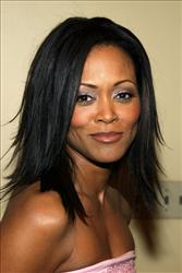 Robin Givens attends the premiere of the DreamWorks film 'Head of State' on March 26, 2003 in Westwood, California.
