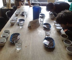 A coffee cupping session at San Francisco's Ritual Roasters.