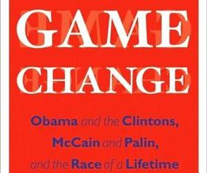 The cover of Game Change by Mark Halperin and John Heilemann.