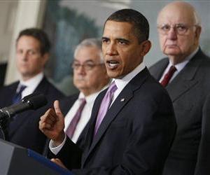 President Barack Obama speaks about financial reform, Thursday, Jan. 21, 2010, at the White House.
