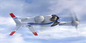NASA's Puffin could up in the air for real in March, or at least a working model of it.