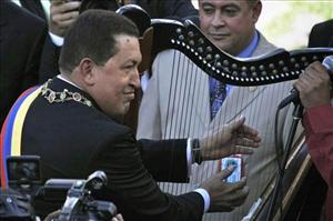 Venezuelan President Hugo Chavez.