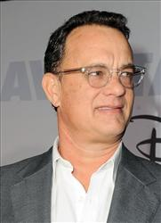 Tom Hanks arrives at the premiere of Old Dogs last year in Los Angeles.