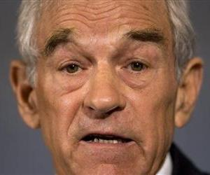 Ron Paul takes part in a news conference at the National Press Club in Washington, Wednesday, Sept. 10, 2008.