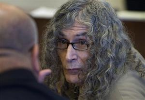 Rodney Alcala talks with his investigator before being convicted in Santa Ana, Calif. on Thursday, Feb. 25, 2010 of murdering a 12-year-old girl and four women in the late 1970s.