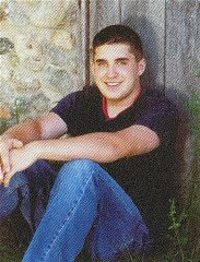 This undated photo taken from the Crandon High School yearbook and made available by WJFW-TV in Rhinelander, Wis. shows Tyler Peterson. Peterson, an off-duty sheriff's deputy went on a shooting rampage early Sunday Oct. 7, 2007 at a home where seven young people had gathered for pizza and movies, killing...