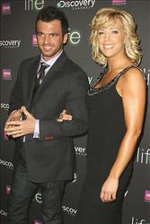 Kate Gosselin arrives at Discovery Channel's New York Premiere of LIFE, Thursday, March  4, 2010. Joining Gosselin is her Dancing with the Stars partner Tony Dovolani.