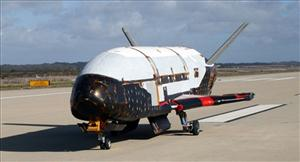 This undated image released by the U.S. Air Force shows the X-37B spacecraft.