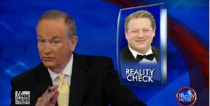 Bill O'Reilly introduces the interview in this screenshot.