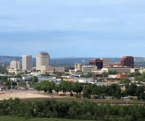 Colorado Springs' skyline is seen in this file photo.