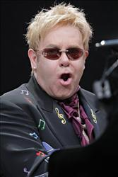Elton John performs in 2008.