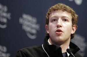 Mark Zuckerberg in a file photo from 2009.
